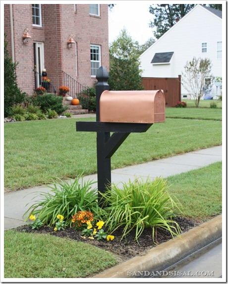 copper shades - Mailbox Design Ideas