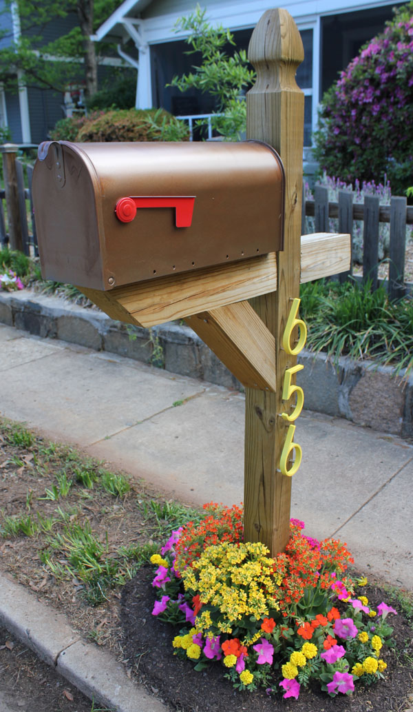 Easy DIY Mailbox Designs Decorative Mailbox Ideas