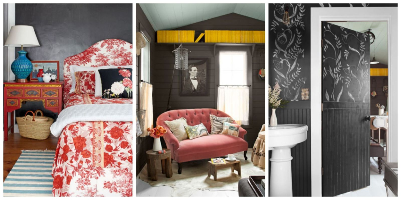 decorating with black - home decor in black