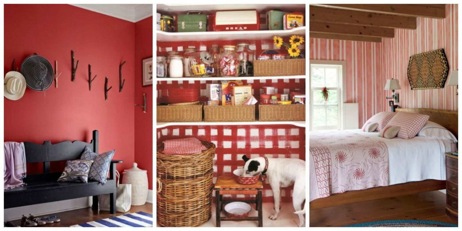 Bedroom Decor Red decorating with red - ideas for red rooms and home decor