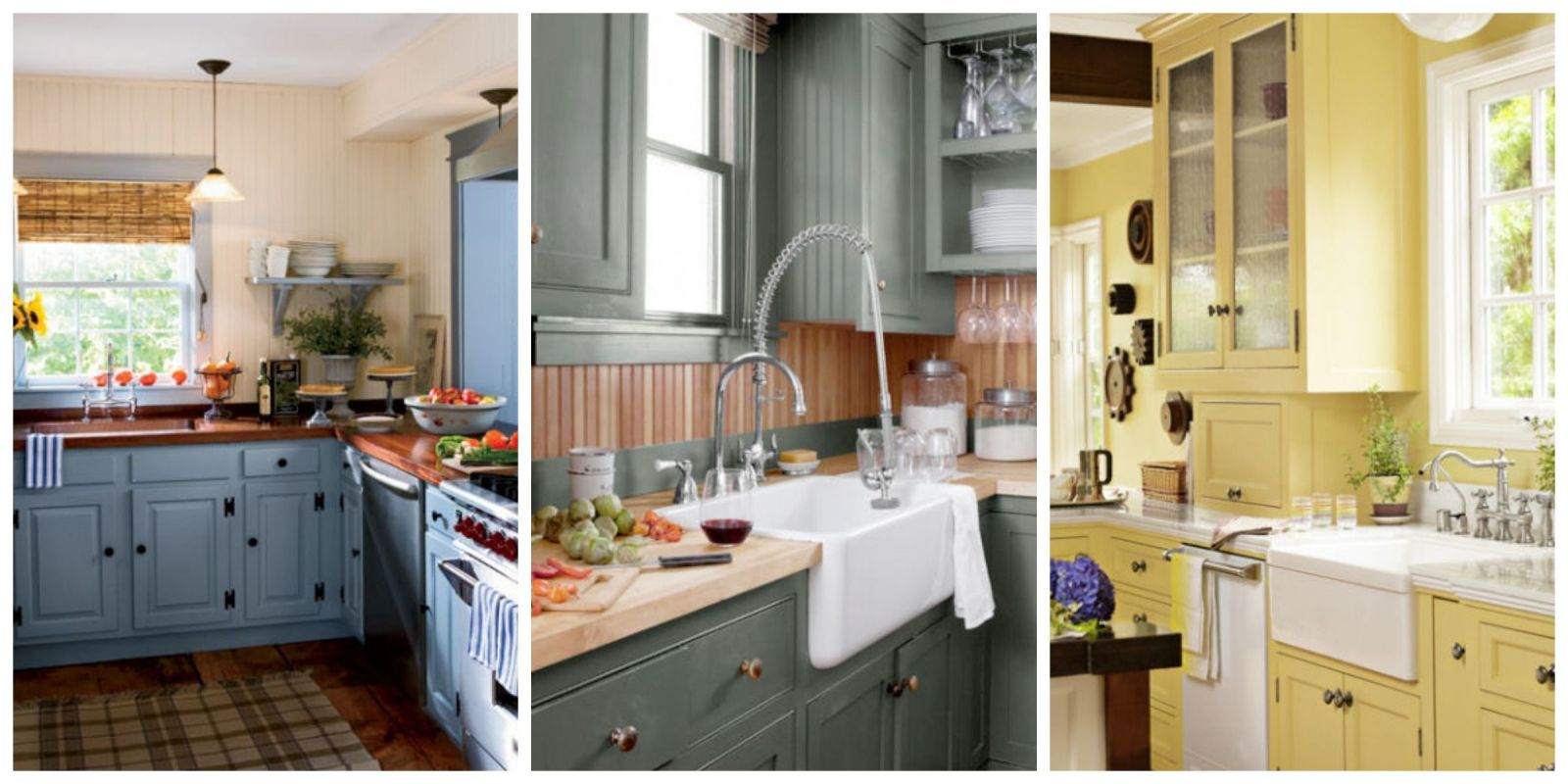 Painting Ideas For Kitchen 15 Best Kitchen Color Ideas  Paint And Color Schemes For Kitchens
