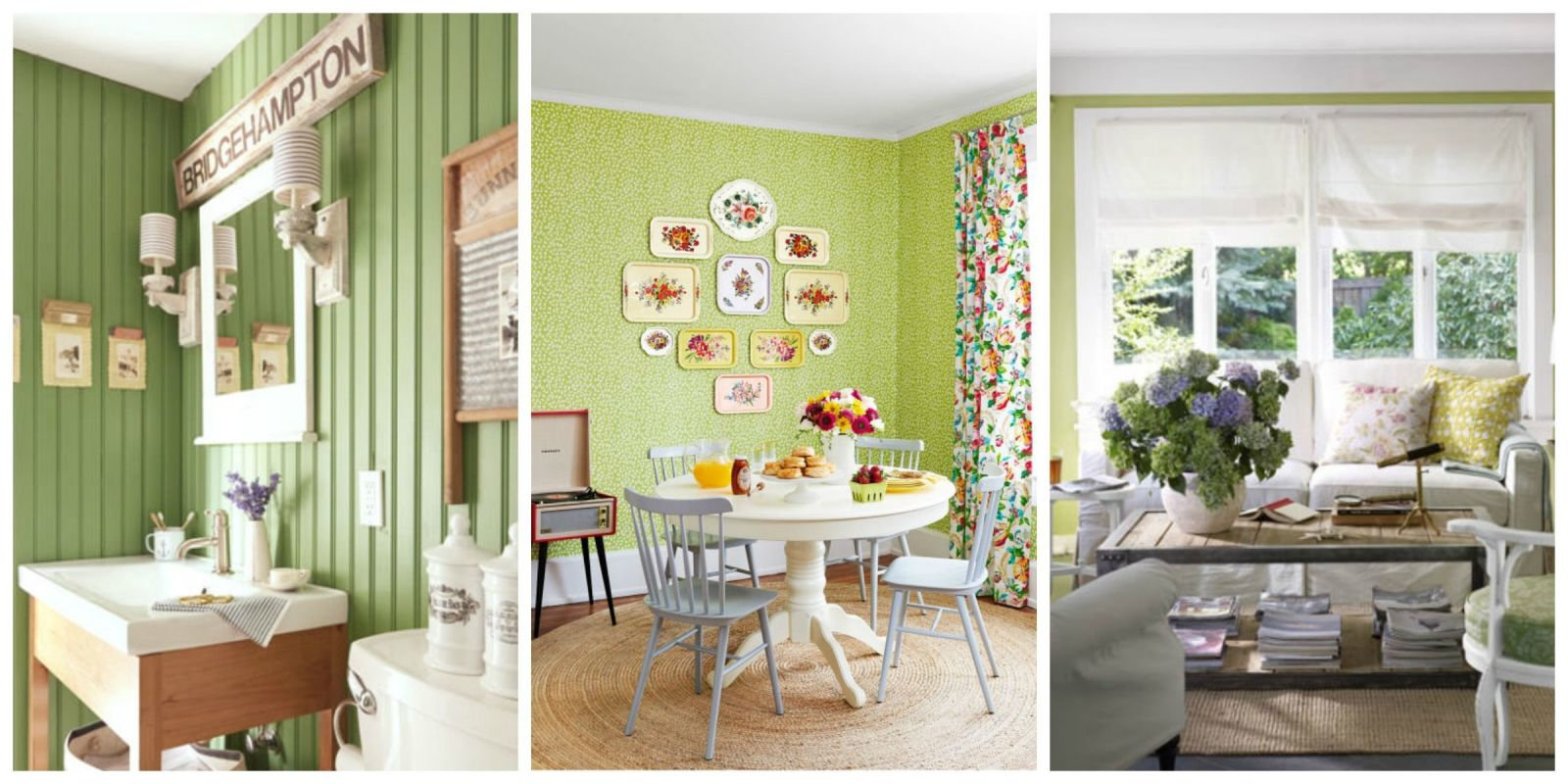 Home Design Ideas Colours: Ideas For Green Rooms And Home Decor