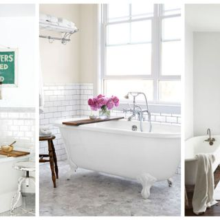 Use White To Create A Clean, Relaxing And Bright Look For Your Bathroom.
