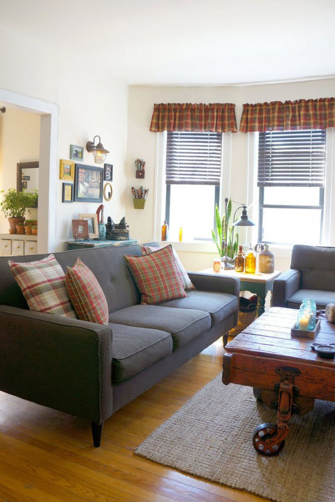 How To Achieve Farmhouse Style Living Room