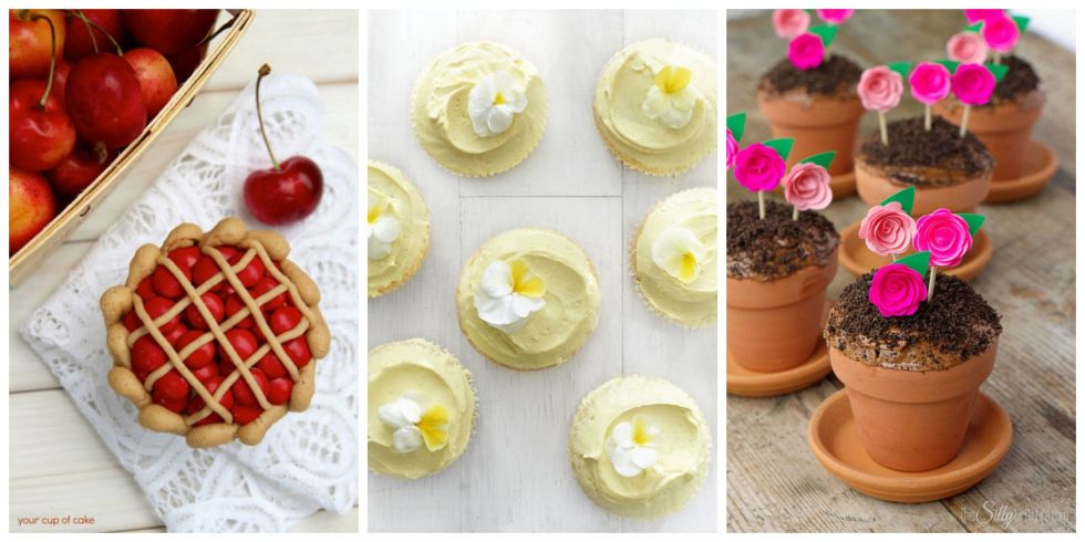 30 Charming And Easy Homemade Cupcake Recipes Decorating Ideas