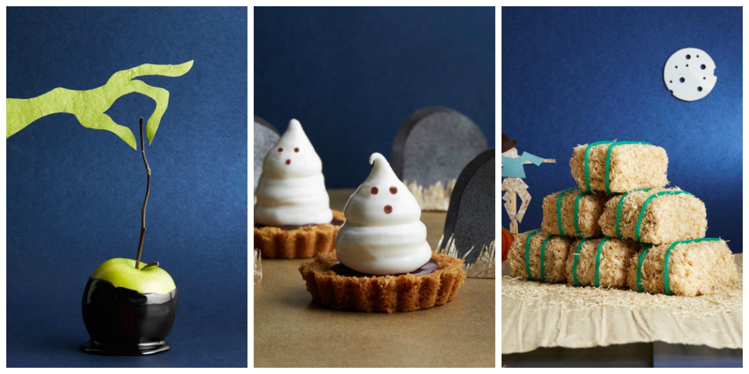 50 homemade halloween treats easy halloween dessert recipes. Black Bedroom Furniture Sets. Home Design Ideas