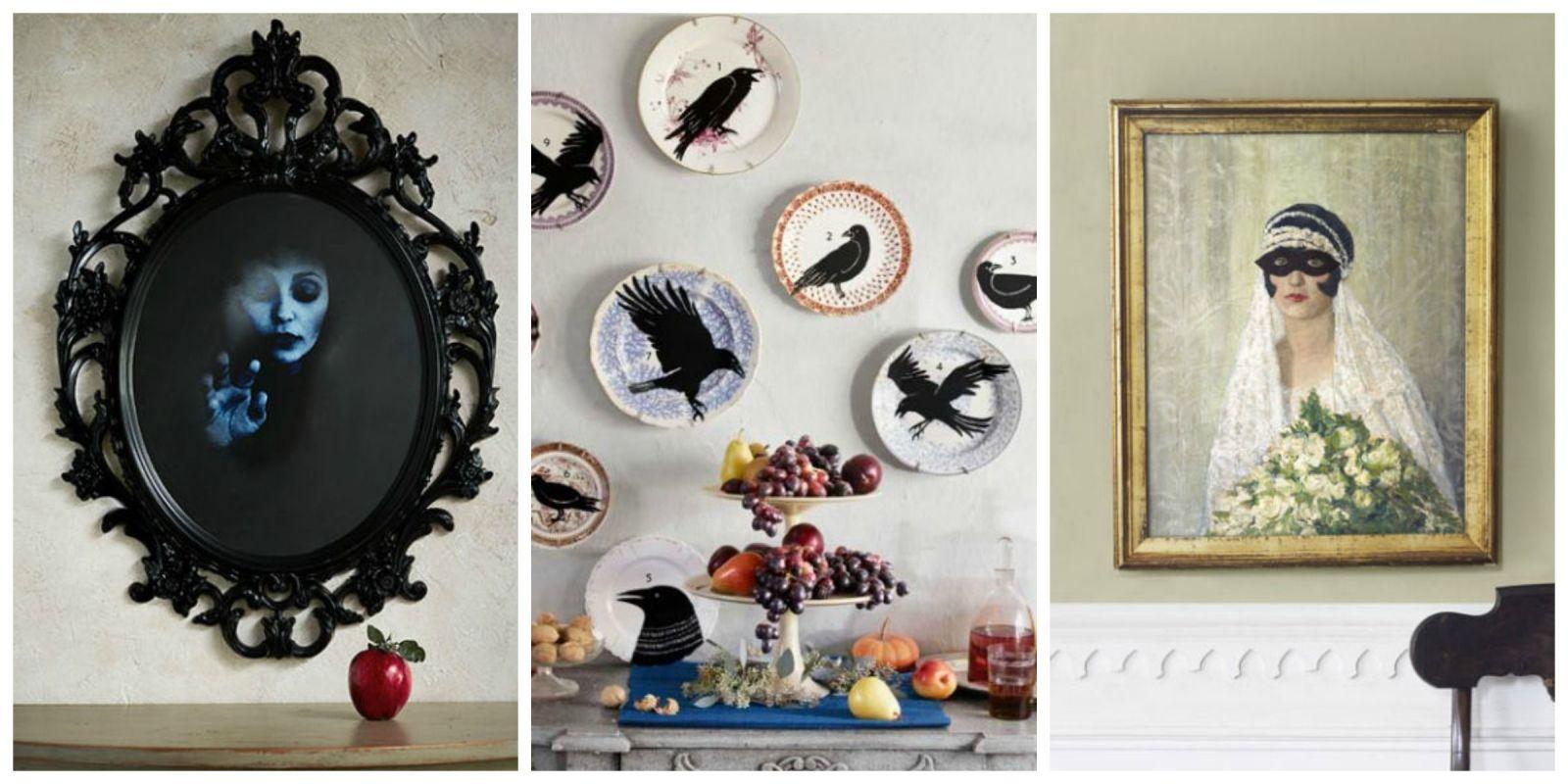 9 homemade halloween decorations halloween art - Halloween Homemade Decorations