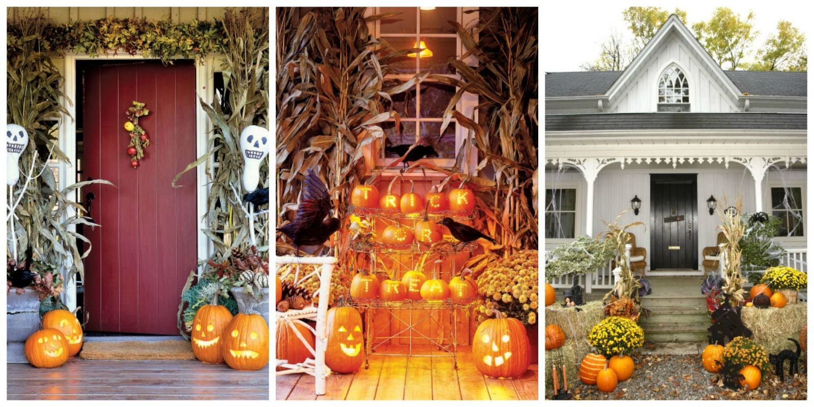 30 outdoor halloween decorations easy halloween yard and for Halloween home decorations