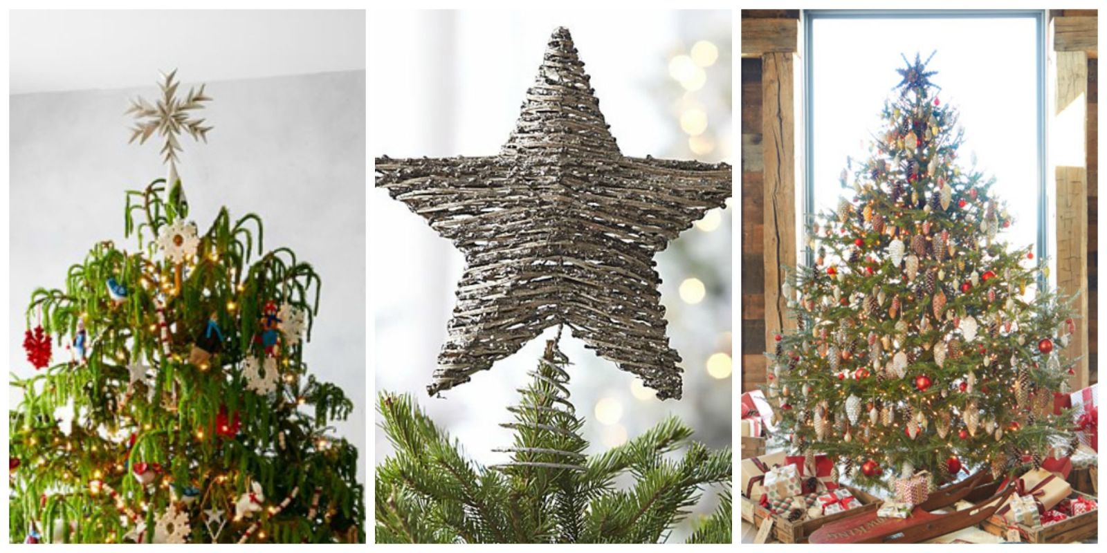 17 Unique Christmas Tree Toppers