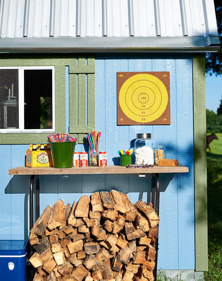 tall wood rack she shed decorating ideas how to decorate your backyard shed