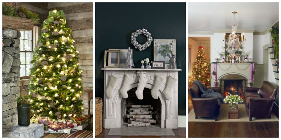 Homes Decorated For Christmas On The Inside 26 best christmas home tours - houses decorated for christmas