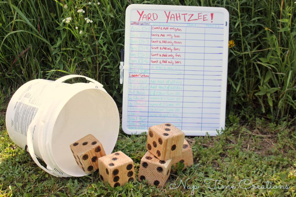Diy yard games outdoor party games