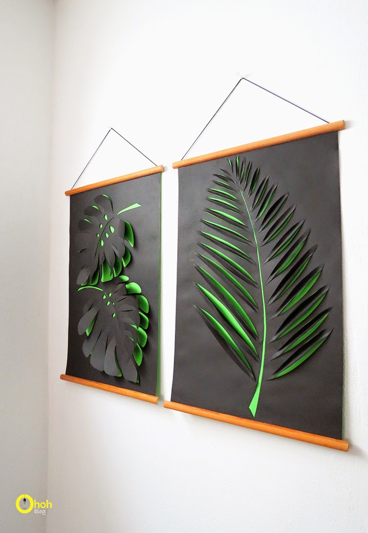 Diy wall art affordable art ideas for Art and craft ideas for decoration