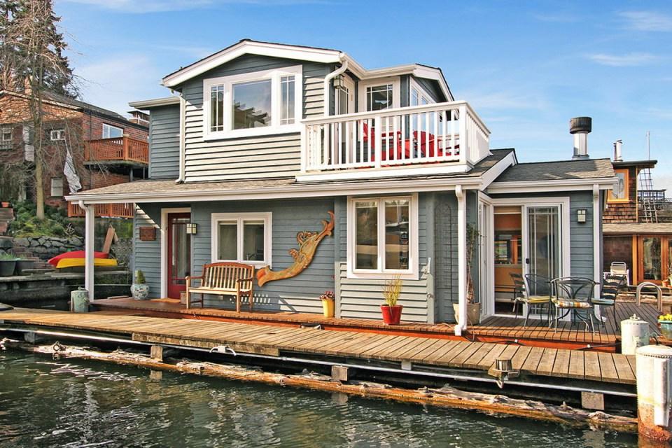 Floating Tiny House Tiny House Movement