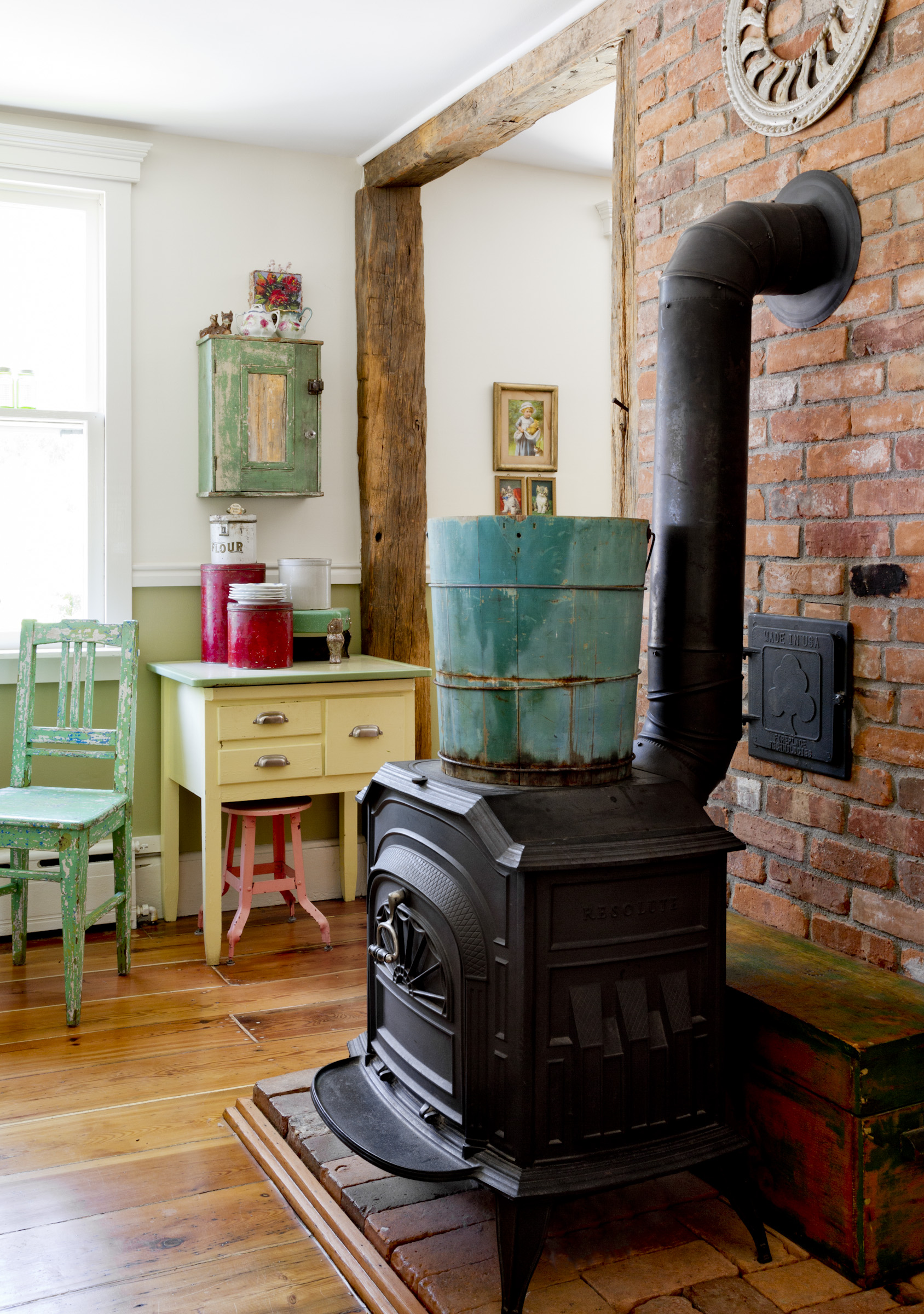 charming upstate new york home filled with colorful antique finds