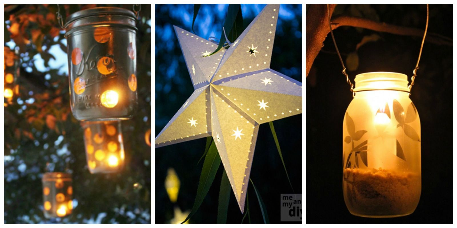 Diy lanterns outdoor lanterns for Diy lights ideas