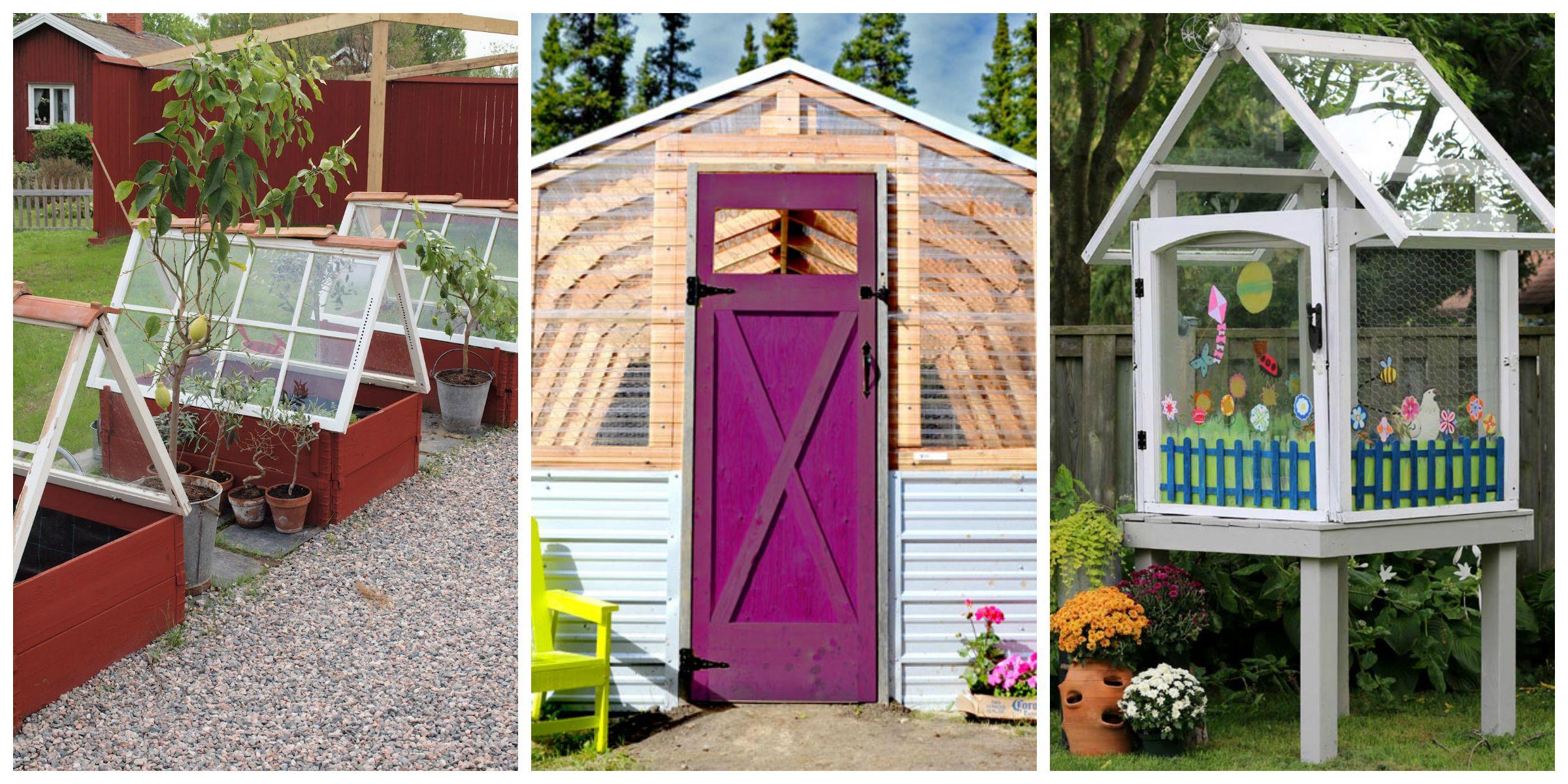 Awesome Backyard Greenhouses
