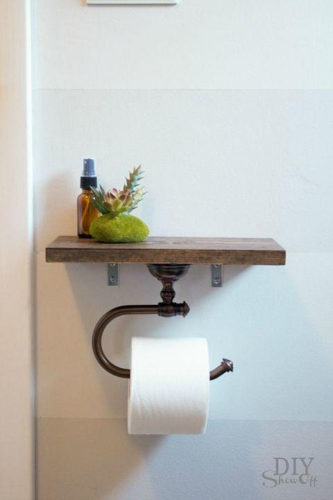 8 DIY Gegenstände, die du unbedingt in deinem Badezimmer brauchst