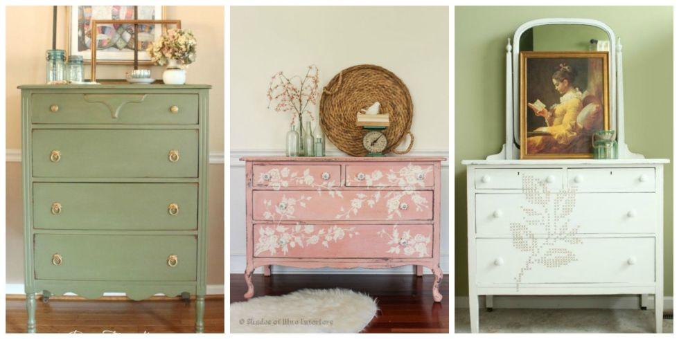 22 Gorgeous Ways To Breathe New Life Into An Old Dresser
