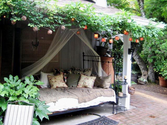 Outdoor Bedrooms Outdoor Decorating