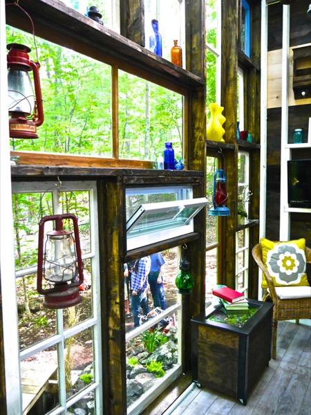 Derek Diedricksen Tiny House Tiny Glass Cabin