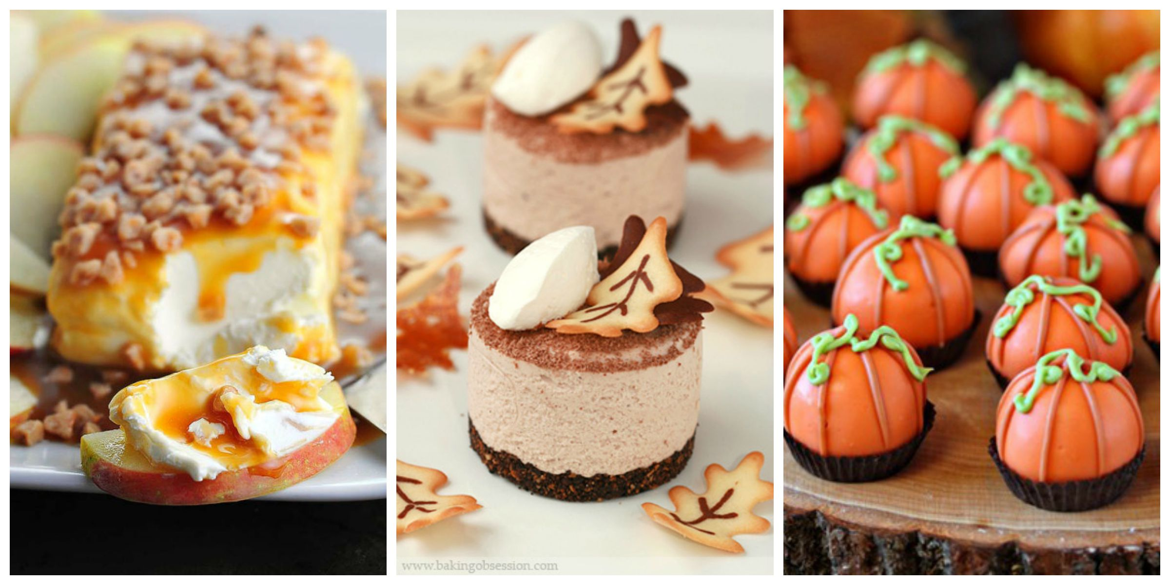 35 easy fall dessert recipes best treats for autumn parties Fall decorating ideas for dinner party