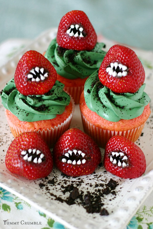 30 halloween cupcake ideas easy recipes for cute halloween cupcakes - Scary Halloween Cake Recipes