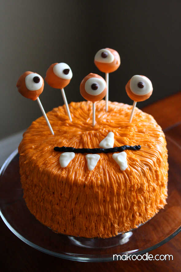 61 easy halloween cakes recipes and halloween cake decorating ideas - Easy Halloween Cake Decorating Ideas