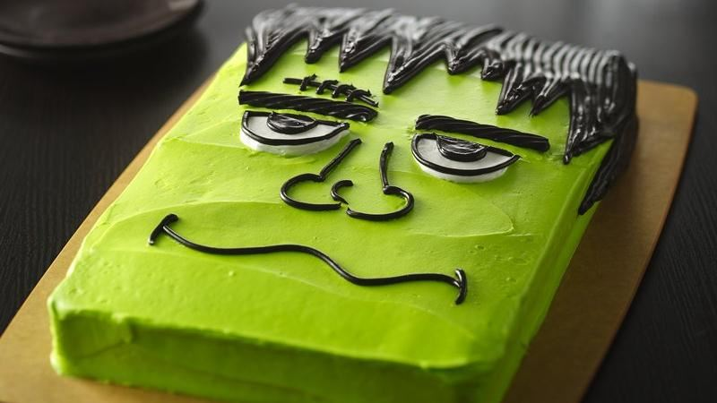 61 easy halloween cakes recipes and halloween cake decorating ideas - Easy To Make Halloween Cakes