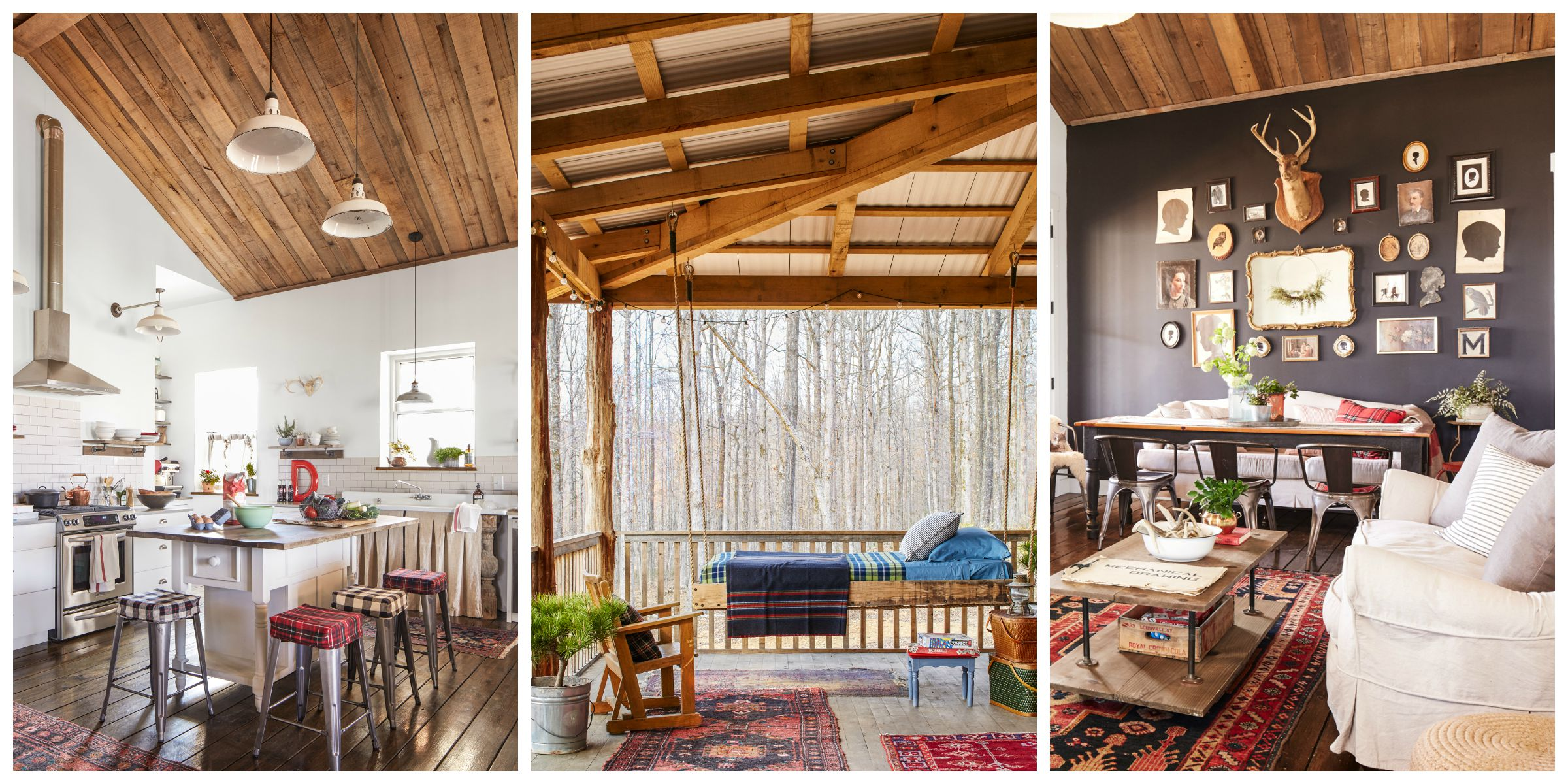 Cabin Decorating Ideas: Darryl And Annie McCreary Cabin Decorating Ideas