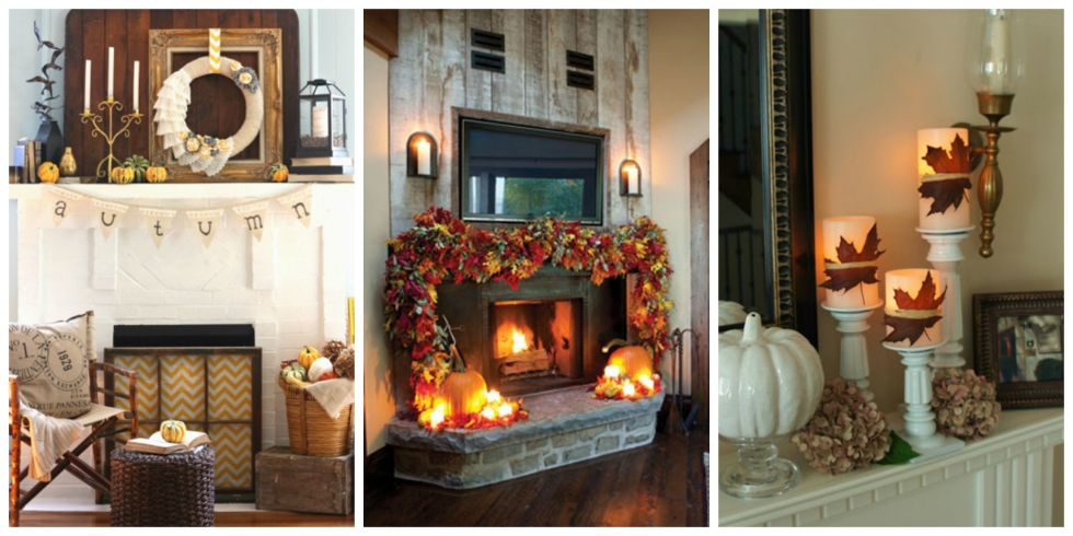 37 photos - Halloween Mantle