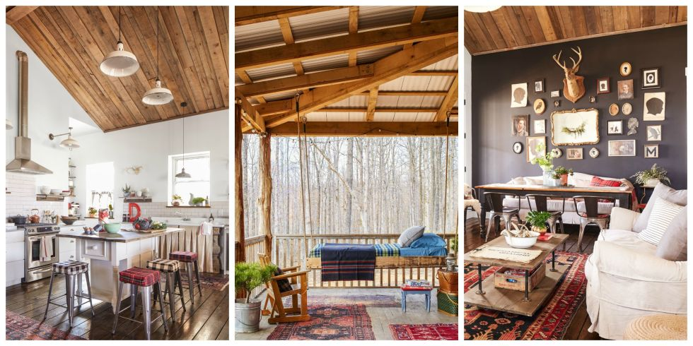 Darryl And Annie Mccreary Cabin Decorating Ideas Rustic Cabin Decor