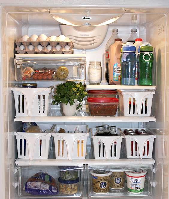 14 Genius Hacks For A Perfectly Organized Refrigerator: Refrigerator Organizing Hacks
