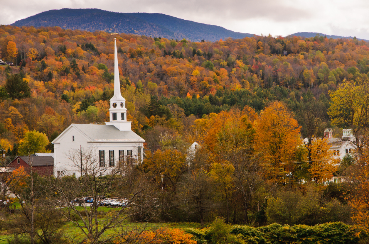 3 stowe gettyimages for Best fall destinations in the us