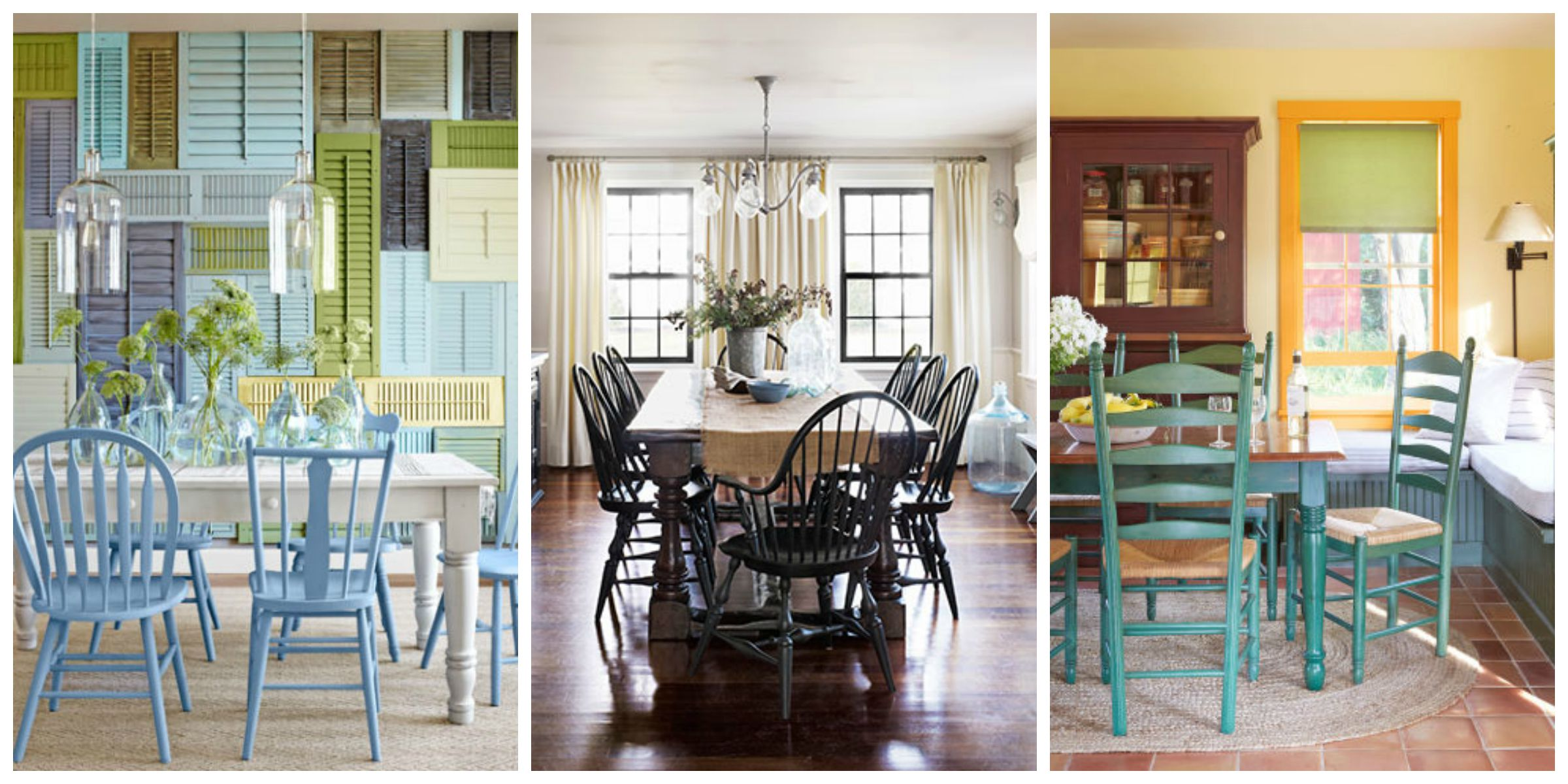 5 different chair styles types of chairs for your dining for Different dining room styles