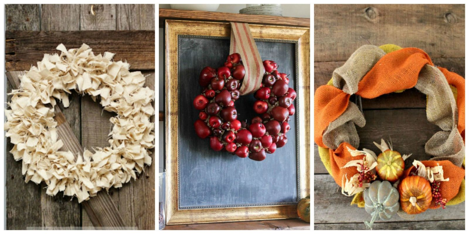 21 diy fall wreaths ideas for autumn wreath crafts for Fall diy crafts pinterest