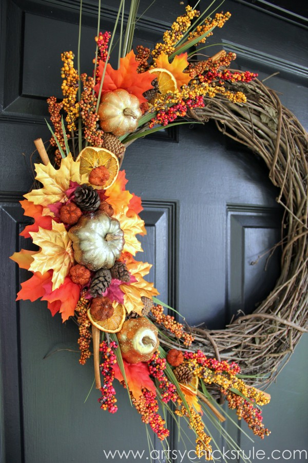 Superior Fall Door Wreath Ideas Part - 2: Country Living Magazine