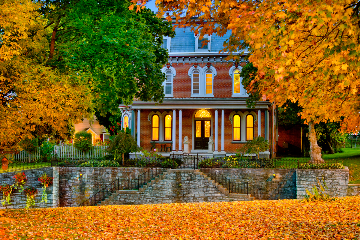 Amish Stone Masons : B bs and inns for leaves — best bed breakfast fall