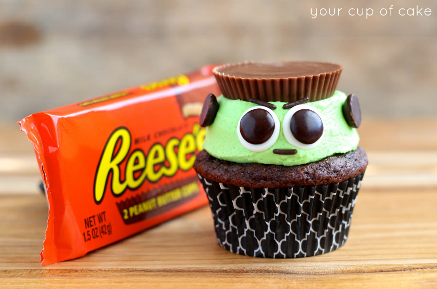pictures of halloween cupcake recipes ideas