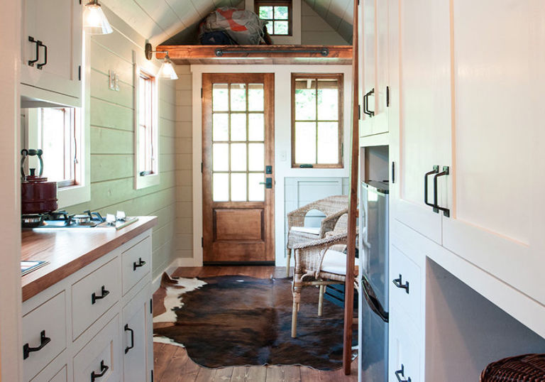 from the inside this tiny house feels like a giant home - Tiny House Inside