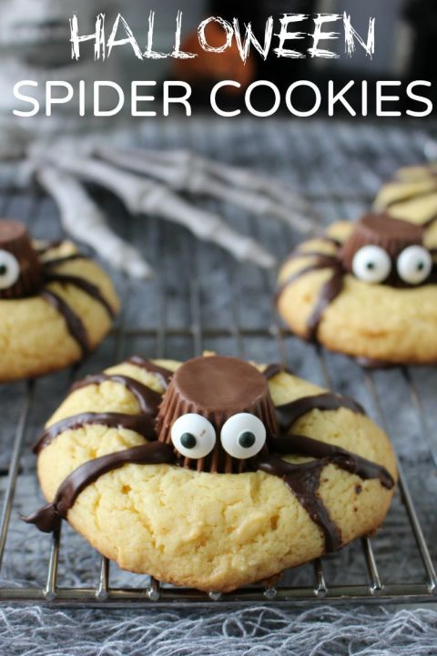 31 Easy Halloween Cookies Recipes Ideas For Cute