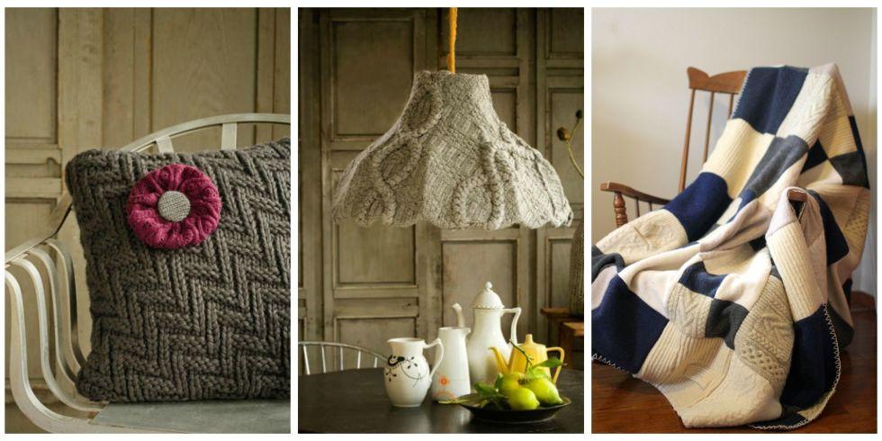 diy winterdekorationen und geschenkideen aus alten pullovern. Black Bedroom Furniture Sets. Home Design Ideas