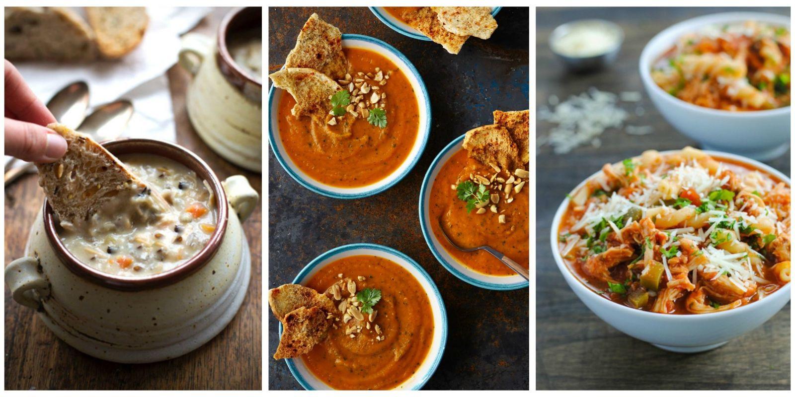15 Slow Cooker Soup Recipes Ideas For Crockpot Soups