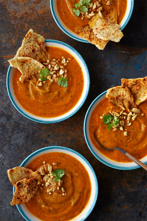Heat up your evening with this rich, spicy soup. Get the recipe.
