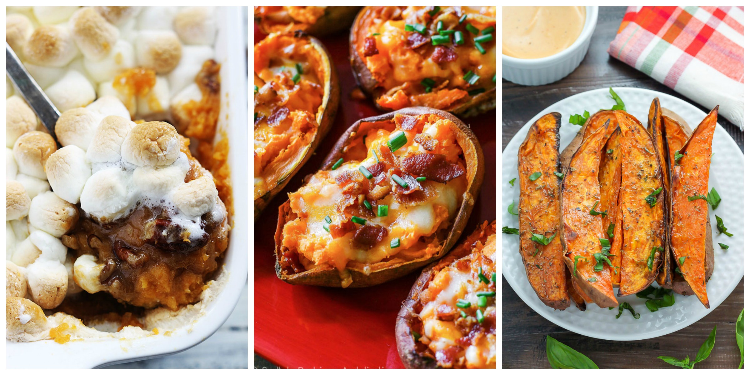 35 easy sweet potato recipes baked mashed and roasted for Quick snacks to make with potatoes