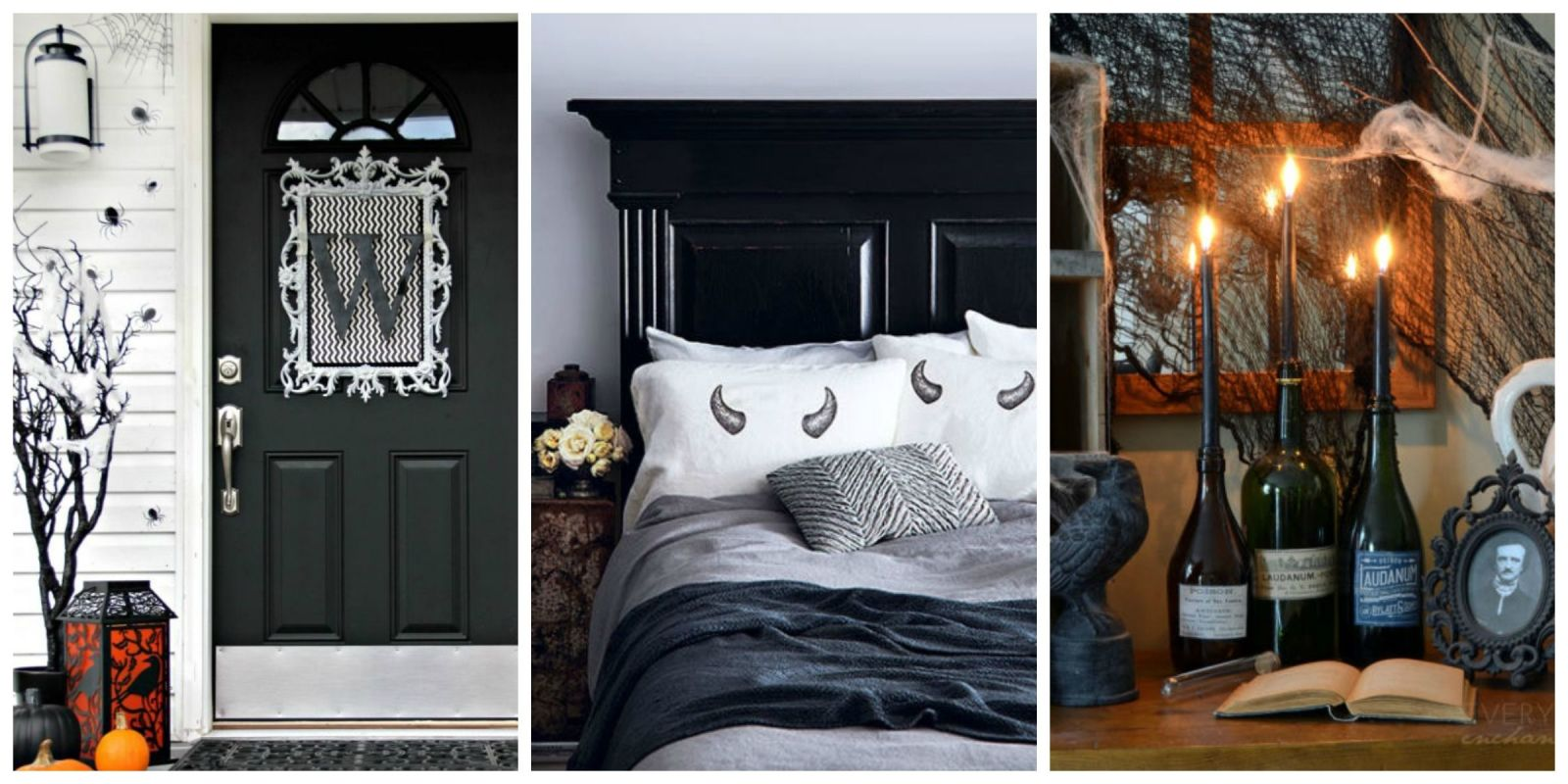 how to decorate every room in your house for halloween haunted house decorating ideas - Halloween Home Decor Ideas