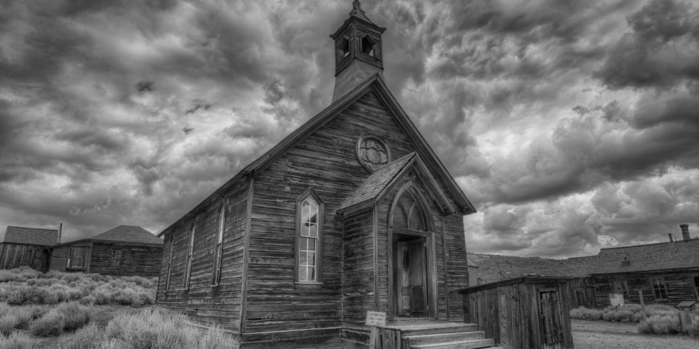 Old mines, abandoned buildings, and ghostly orbs: These are a few of the most haunted locales in the country.