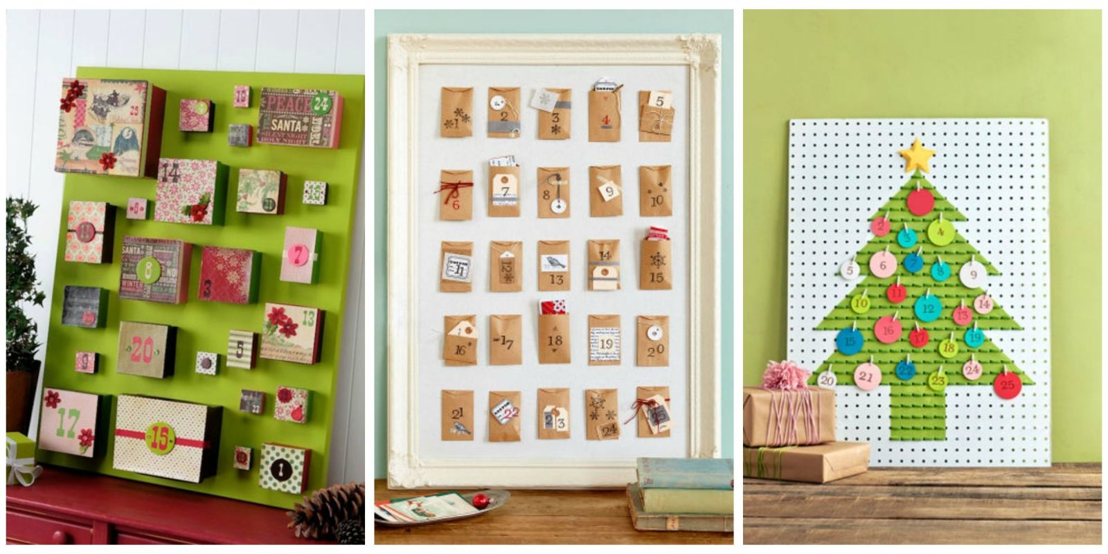 25 diy advent calendar ideas homemade christmas advent for Diy christmas advent calendar ideas