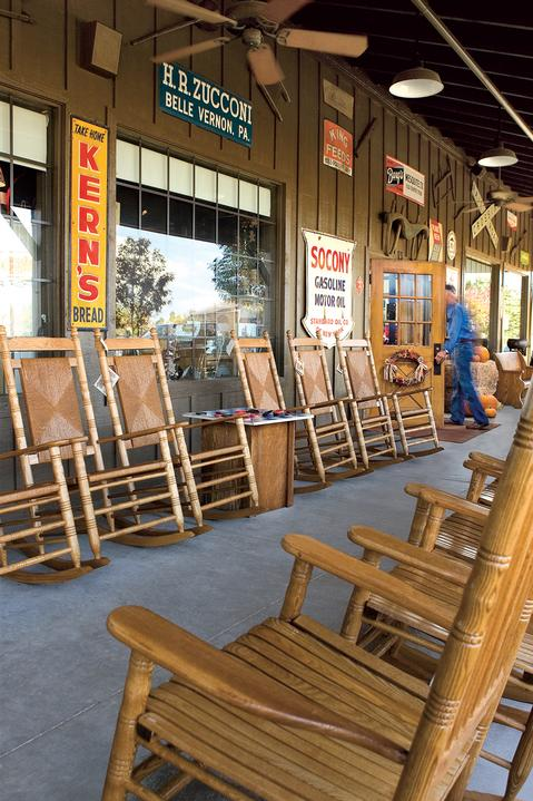 10 Those Rocking Chairs Are All Handmade In The USA.
