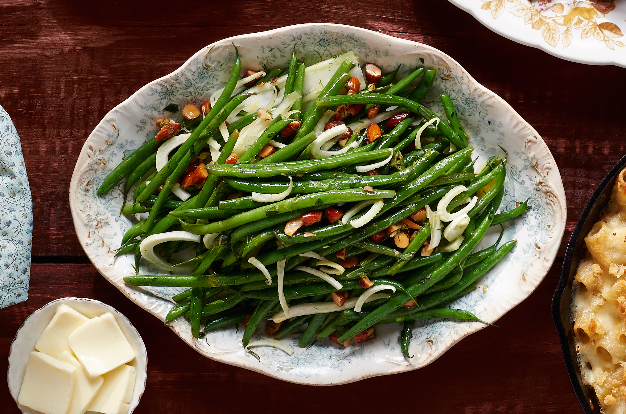 Green beans and fennel with tarragon for Green bean dishes for thanksgiving